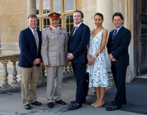 Chief Of The General Staff and Head Of The Army Co-signs Military Covenant at Longleat