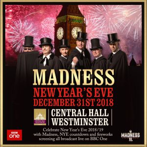 New Year's Eve Madness comes to Central Hall Westminster in live BBC concert