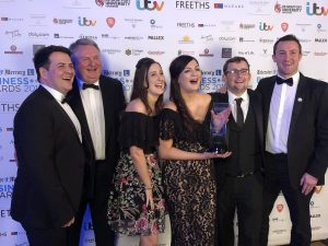 College Court leadership success at the Leicester Mercury Business Awards!